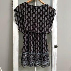 👗Romper style elastic waist dress